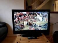 "32"" LCD TV built in freeview hdmi and remote"