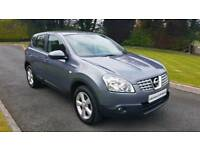 2009 NISSAN QASHQAI 1.5 DCI...FULL MOT AND SERVICE HISTORY...FINANCE THIS CAR FROM £30 PER WEEK...