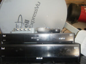 complete bell satellite system with free delivery