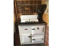 royal rayburn rayburner stove - oil fired - for spares or repair