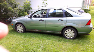 2006  Ford focus 4 wheel  fully loaded