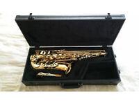 Selmer SA80 engraved alto saxophone