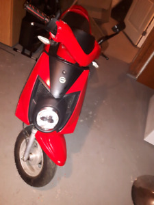 2013 chironex chase trade for 2 stroke scooter