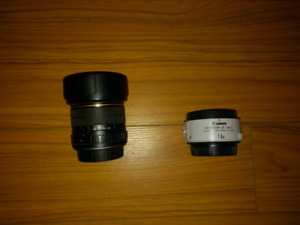 Canon Lens and Extender