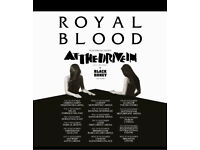 Royal Blood at Cardiff Motorpoint Arena - two standing tickets