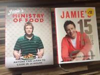 2 Jamie Oliver cook books *SSTC*