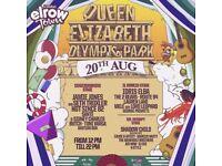 Elrow festival tickets for Sunday £100 2no