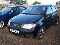 2004 04 low milage FIAT PUNTO 5 DOOR NEW MOT IDEAL FIRST CAR £795