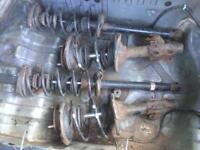 Nissan 200sx s14 s14a s15 Silvia sr20det standard suspension shocks and springs front struts drift
