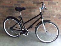 Mountain Bike: A touch of Elegance - Ladies Townsend bike, 26inch wheels a Very Decent bike.