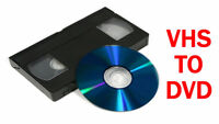 Video to Digital/DVD Conversion $10/tape