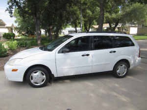 2004 Ford Focus Wagon and additional set of studded winter tires