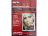 Ilford Galerie Inkjet Photo Paper A3+