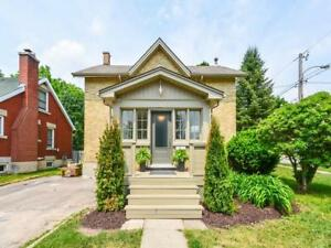 Gorgeous 3 bedroom heritage house for rent!