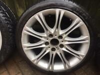 BMW couple Alloys 18 inches plus one spare