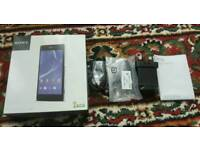 Sony Xperia Z2 D6503 box with accessories only