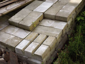 REDUCED - CEMENT BLOCK FOR SALE - PICKUP ONLY!