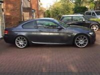BMW 320d M SPORT, LOW MILEAGE, RED LEATHERS