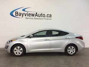 2016 Hyundai ELANTRA L- 6 SPEED! 1.8L! ECO MODE! PWR GROUP!