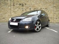 VW GOLF GTI MK5 2.0 TFSI! BLUE, LEATHERS! OPEN TO OFFERS