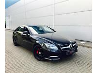 2013 13 Mercedes-Benz CLS350 3.0 CDI Blue F 7G-T Plus Sport AMG + BLACK +