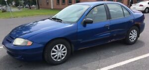 SUPER DEAL - FAST SALE  2003 Chevrolet Cavalier NEGOTIABLE HURRY