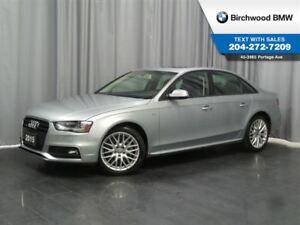 2015 Audi A4 Komfort Plus Local Car! 1 Owner!