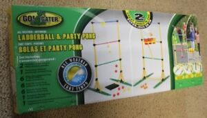 LADDERBALL & PARTY PONG (new in box)