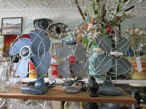 Vintage Table Fans