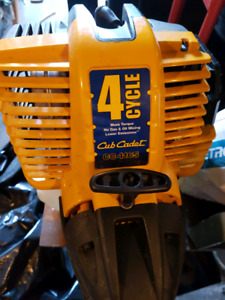 Cub cadet 4 cycle string trimmer.