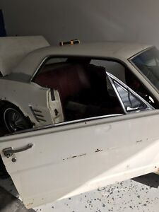 Parting out 1966 mustang