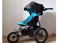 Jogger stroller x-lander x-run pushchair inline skating running jogging