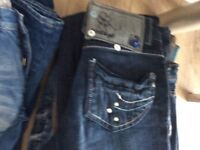 Clearance 14 sacks, designer jeans, clothes, shoes, handbags, belts, cushions