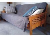 FREE: 3-seater futon/sofabed