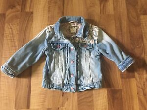 Cute Laced Jean Jacket