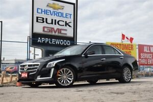 2014 Cadillac CTS 3.6, AWD, NAV, SUNROOF, DRIVERS AWARENESS PACK