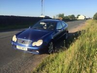 03 Mercedes Benz 2.2cdi coupe sport...fully loaded