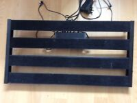 "Guitar Pedalboard 24"" x 12"" same same as Pedaltrain Classic 2 + Power supply etc"