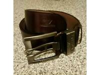 Giorgio armani leather belt