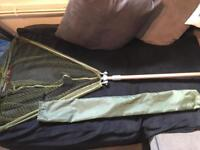 Large fold up landing net