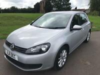 2011 VOLKSWAGEN GOLF 1.6 TDI BLUEMPOTION TECH FULL MOT FULL HISTORY PX