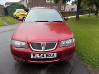 ROVER 45 1.6 CLUB SALOON 54 REG,, CHEAP RUNABOUT FOR SOMEONE,, DRIVES WELL ,, MOT FEBRUARY 2018
