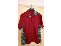 Paul Smith Retro Fish Shirt Large