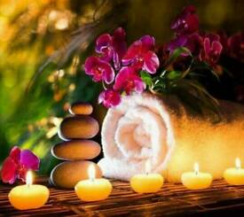 ENJOY THE RELAXING MASSAGE OF HOT OIL