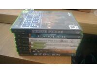 original xbox and seven games