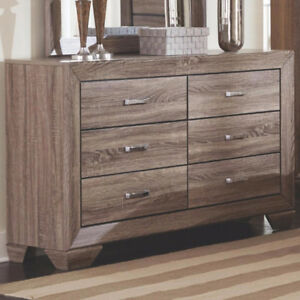 Brand New!! Beautiful, Antique, Taupe Finish 5 Drawer Chest