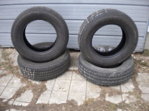 TWO 255x60x15 AND TWO 275X60X15 $110.