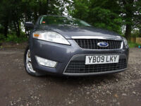 09 FORD MONDEO ZETEC TDCI 140 2.0 DIESEL ESTATE,MOT MAY 018,2 OWNERS,PART HISTORY,VERY RELIABLE CAR