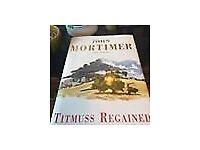 John Mortimer signed hardback first edition, Titmuss Regained