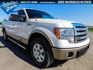 2014 Ford F-150 Lariat 4x4   Leather   Ecoboost   PST Paid